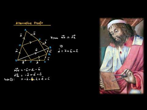 Geometry - Vector Proof (Proving Geometric Theorems)