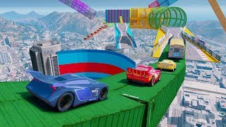 Disney Cars 3 Fabulous McQueen Colors Jackson Storm Cruz Ramirez Mater Miss Fritter Spiderman thumbnail