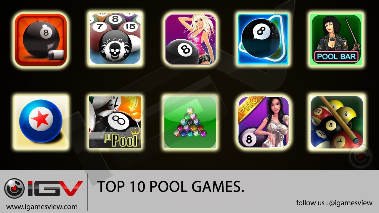 top free iphone games top 10 pool for iphone ipod 1846
