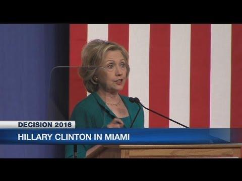 Clinton calls for U.S. to lift Cuba embargo