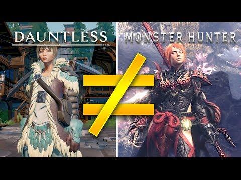 Dauntless is NOT the next Monster Hunter thumbnail