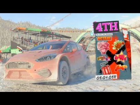 DIRT 5 GREAT RACE for top 4 positions with RizlaBoyBlue and jabuenoo... |