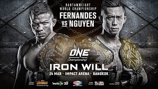 ONE Championship: IRON WILL | Full Event
