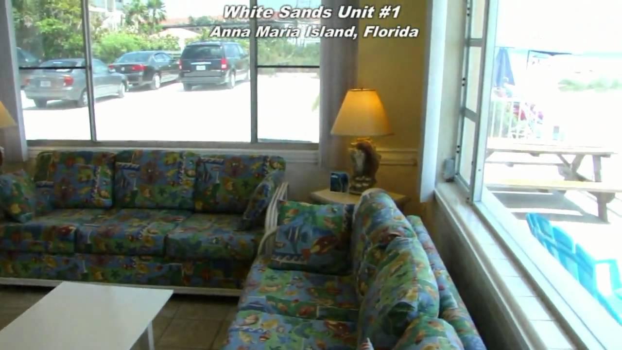 Anna Maria Island Florida Resort Unit 1 At White Sands Beach In Holmes