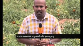 Price Hike in Kerala | Tamil Nadu farmers get low price in Vegetables