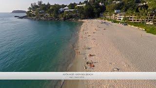 Пляж Ката Ной, Пхукет, Таиланд / Kata Noi Beach, Phuket, Thailand: обзор с дрона(Пляж Ката Ной располагается на юго-западе острова Пхукет и занимает территорию расстоянием 710 метров. 710..., 2016-04-10T03:02:09.000Z)