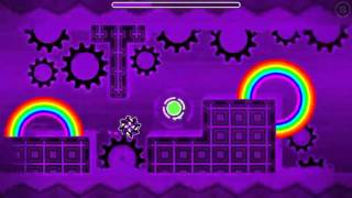 RainBow circles V2 by darkuter (me) - geometry dash