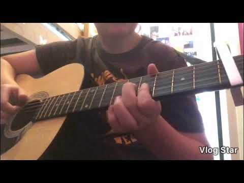 Small bump Ed Sheeran mini guitar cover