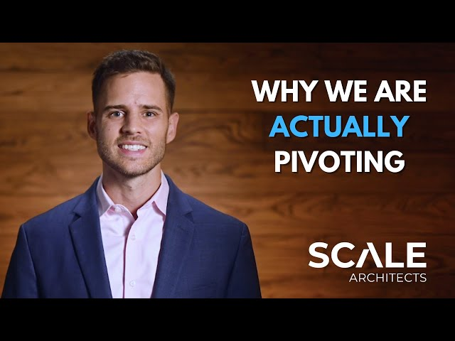 Why we are Actually Pivoting