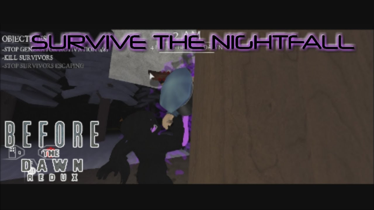 Roblox Before The Dawn Redux Project 0011 Nightfall Gameplay - Survive The Nightfall Roblox Btd Redux Youtube