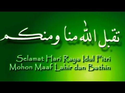 Kata Mutiara Lebaran Ucapan Idul Fitri 1440 H 2019 Dan Takbir