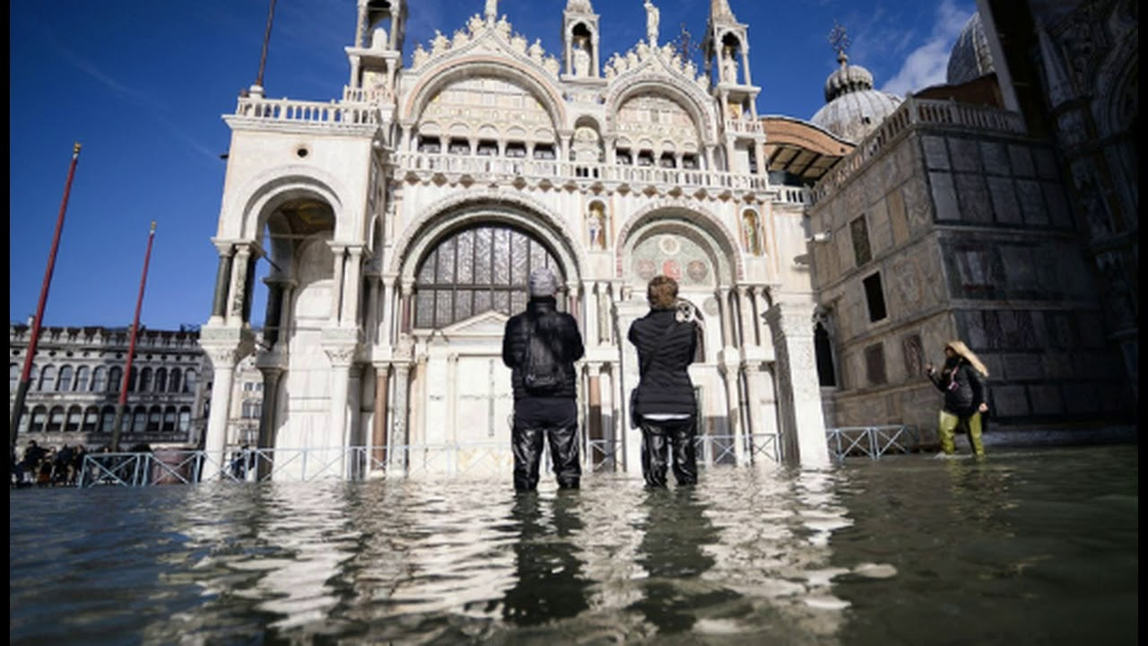 State of Emergency Declared In Italy As Record Flooding In Venice Worsens