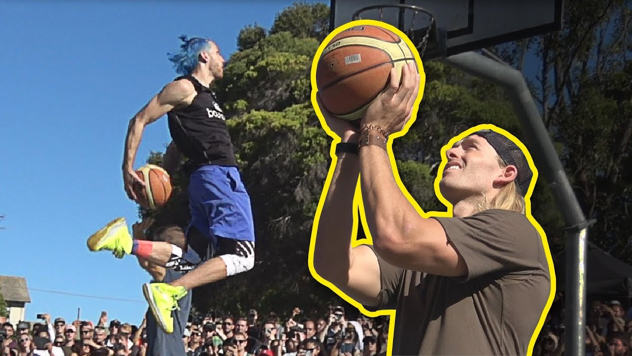 Jordan Dunks Down Under With Will Sparks At Prahran Summer Jam 2018! image