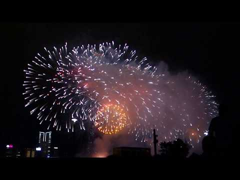 Kowloon Canton Railway 106th Anniversary Fireworks