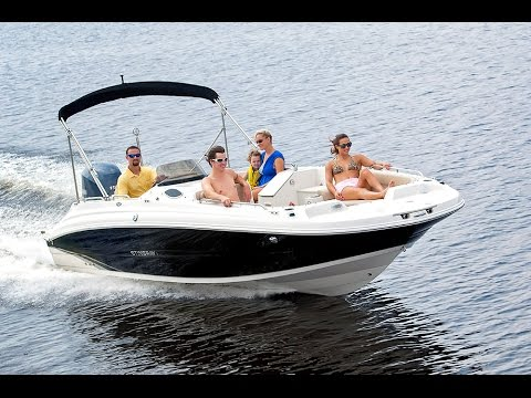 STINGRAY 212SC Deck Boat