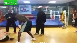 Champion Boxer Deontay Wilder Knocks Out Internet Troll In Real Life (FULL VIDEO)