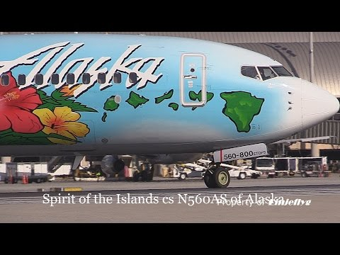 Spirit of the islands cs N560AS of Alaska