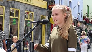 "12 year old Mia Black - ""You Are the Reason"" (Calum Scott)"