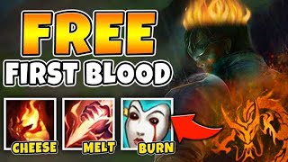 i GOT A PENTAKILL WITH HELLFIRE LEE SIN! BURN 50% HP WITH ONE COMBO - League of Legends