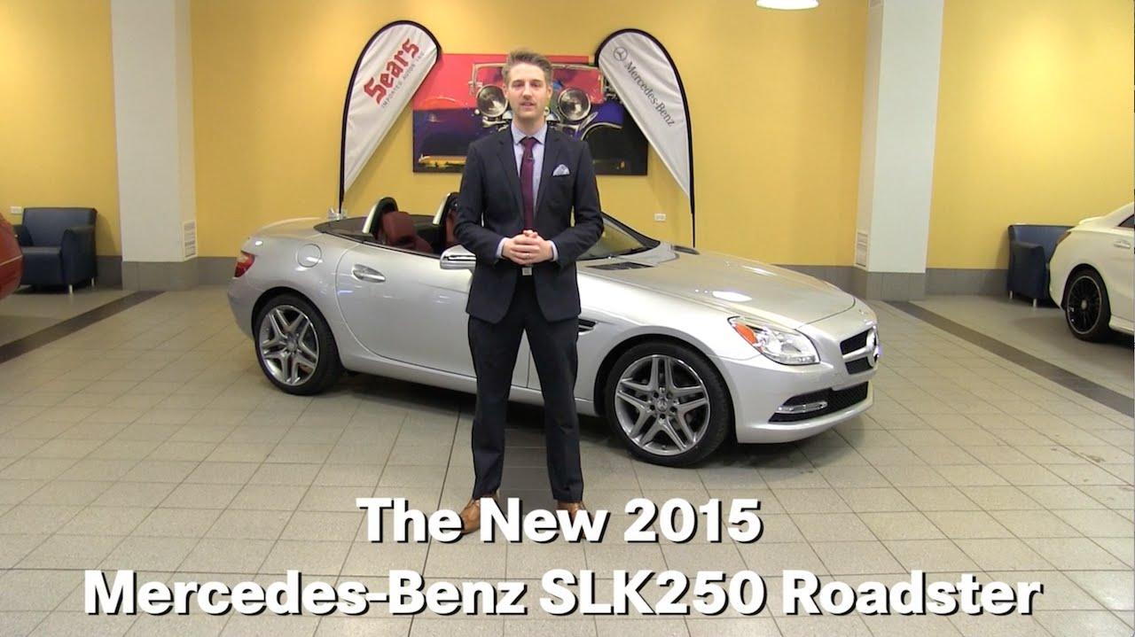 Review: New 2015 Mercedes-Benz SLK250 Roadster SLK-Class ...