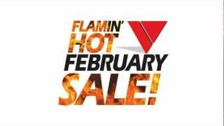 Versatile's Flamin' Hot February Sale