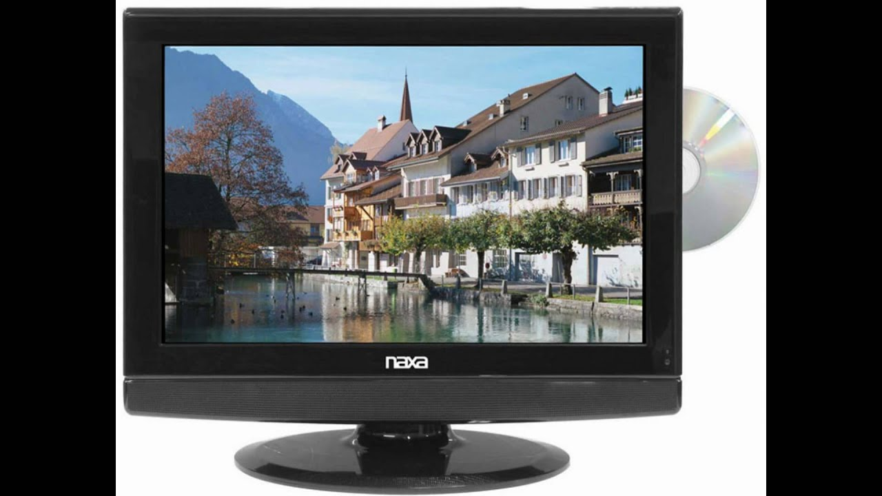 19 Inch Naxa 12 Volt Acdc Widescreen 1080i Hd Lcd Tv With Dvd