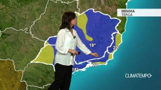 Previsão Sudeste – ZCAS perde força