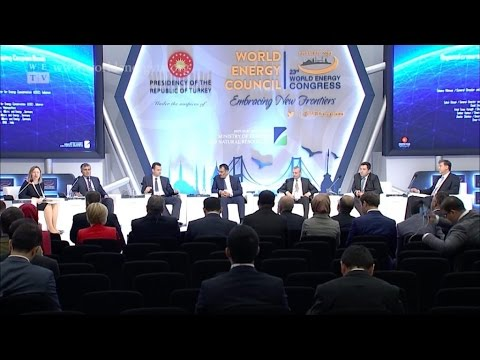 World Energy Congress | Regional Crossroads Central Asia: Caspian Basin Gas to World Markets