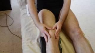 Tutostéo Soulager une tendinite du genou