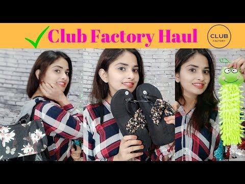 Club Factory Haul