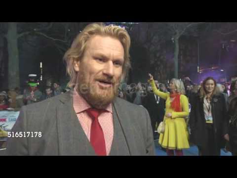 Rune Temte talking about Bjørn in Eddie The Eagle