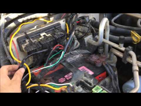 Jeep Wrangler Wiring KC Lights - YouTube
