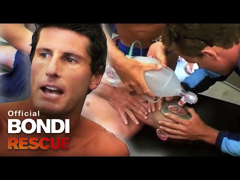 Man Drops Unconscious | Best of Bondi Rescue