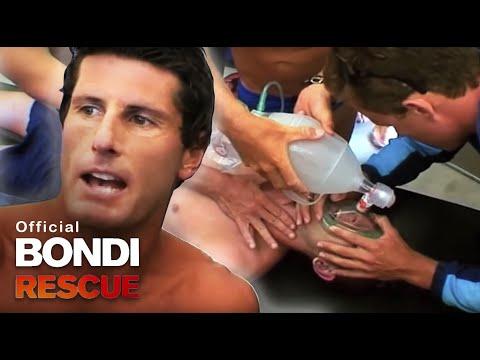 Man Drops Unconscious   Best of Bondi Rescue
