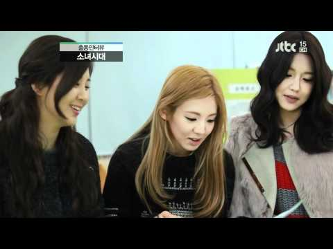 Taeyeon Seohyun Hyoyeon Sooyoung Interview J News Feb06.2012 GIRLS' GENERATION 1080p HD
