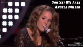 You Set Me Free - Angela Miller (Audio)