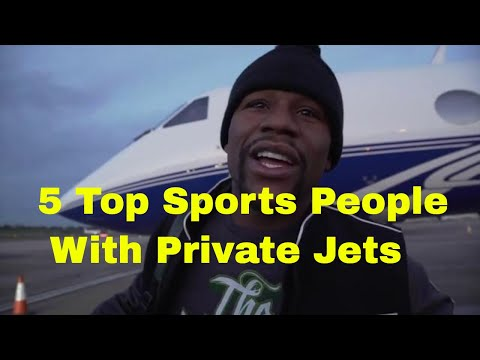 5 Top Sports People With Private Jets