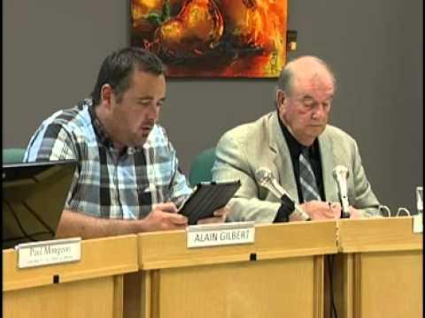 Réunions Publiques - Conseil municipal de L'Ange-Gardien - Juin 2013