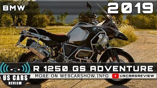 2019 BMW R 1250 GS ADVENTURE Review Release Date Specs Prices