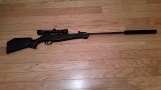 home made air rifle suppressor simply the best out there