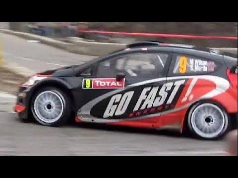 Matthew Wilson, Ford Fiesta WRC, Monte Carlo Rally 2012 ...