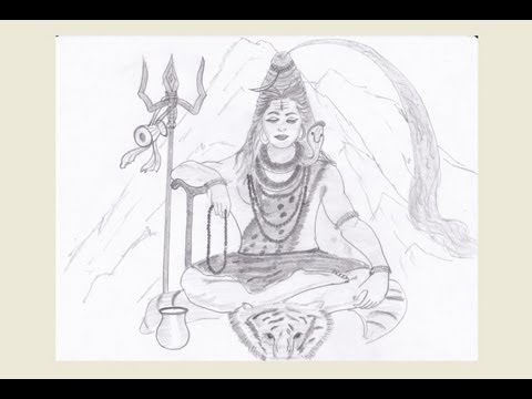 Drawing Lord Shiva Youtube