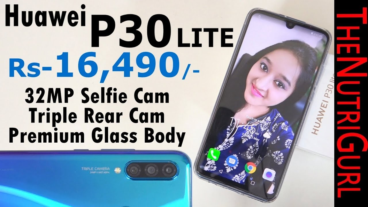HUAWEI P30 Lite - Unboxing & Overview In HINDI(INDIAN RETAIL UNIT)