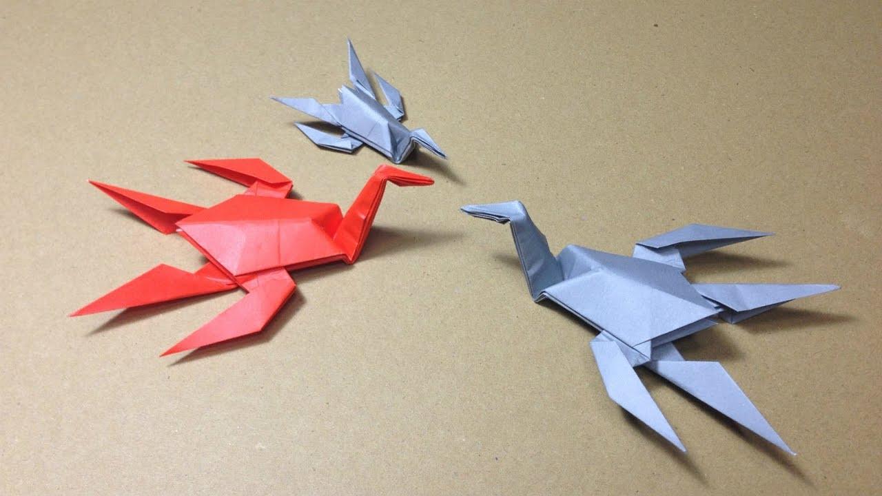 すべての折り紙 折り紙菊の折り方 : ... ウルスの折り方 作り方 - YouTube