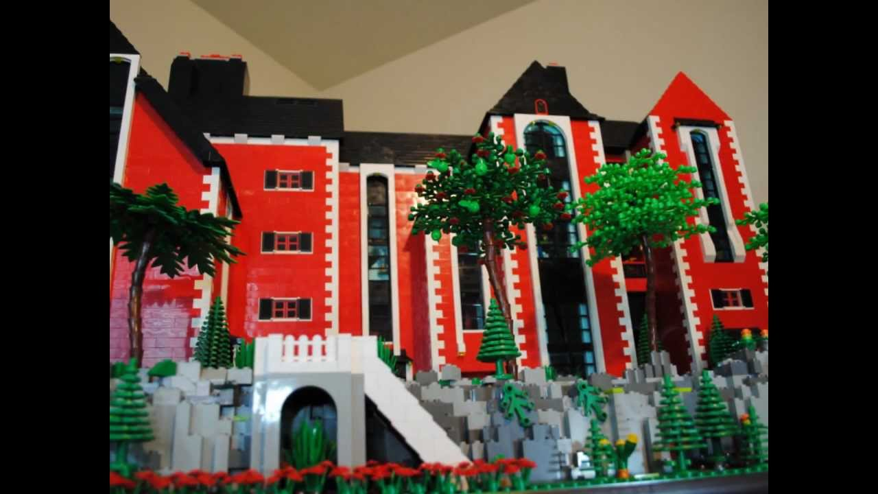 Custom Lego House Mansion Part 1 Of 3 Youtube