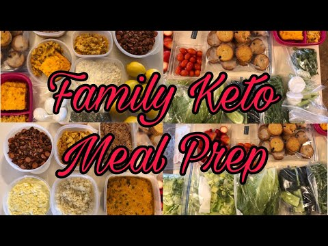 Huge Keto/low Carb FAMILY Meal Prep
