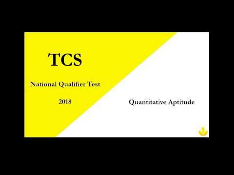TCS NINJA APTITUDE PREP:100 QUESTIONS WITH SOLUTIONS FROM TCS PREVIOUS YEAR PAPERS