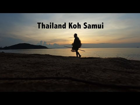 Thailand Koh Samui in 4K Drone Video