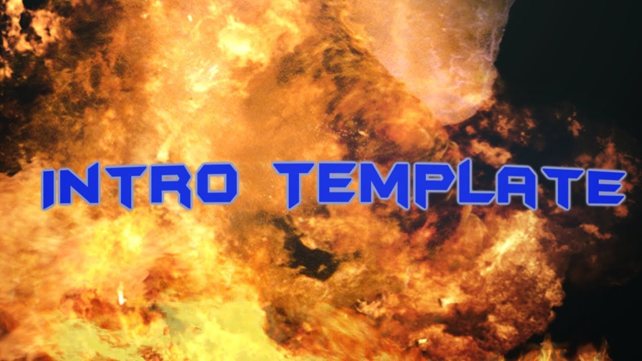 Sony Vegas Pro 12 Explosion Intro Template