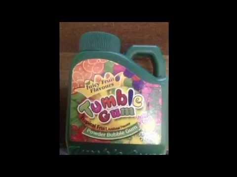 powder chewing gum - Bubble Jug